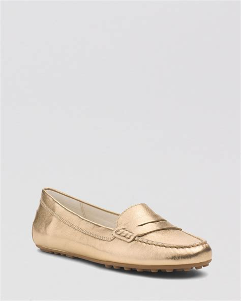 michael kors loafers michael michael kors flat loafers exclusive in