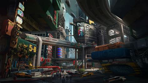 cyberpunk  bridge  hd wallpapers hd wallpapers
