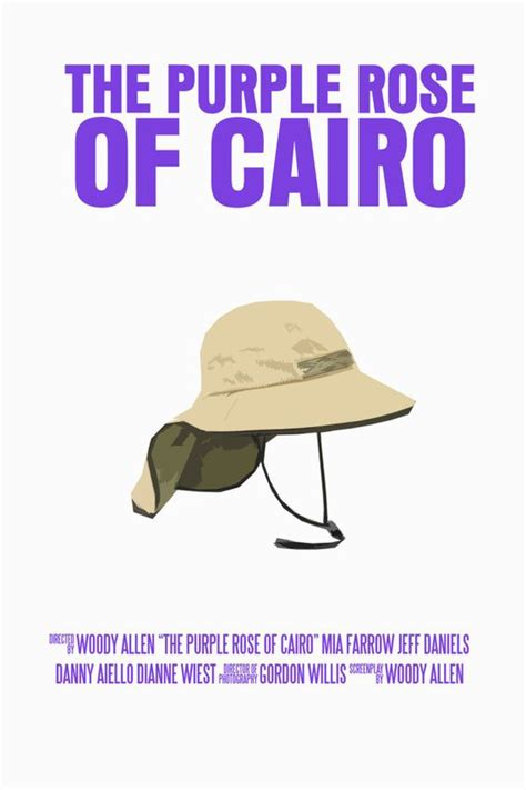 themes in the purple rose of cairo the purple rose of cairo films posters pinterest
