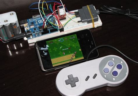 snes roms android diy android snes gamepad ideal for retro roms slashgear