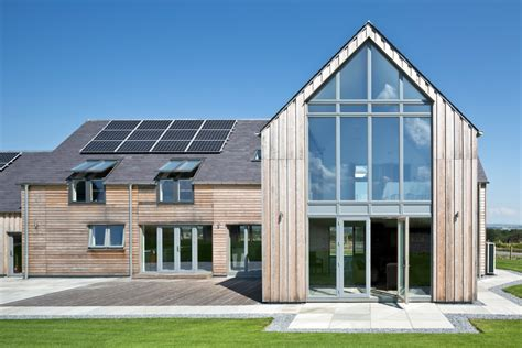 build homes gleneagles self build home allan corfield architects