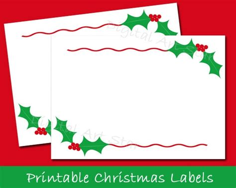 printable christmas mailing labels printable christmas labels tent cards holiday place