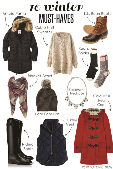 canadian winter must haves peachy fall ideas in