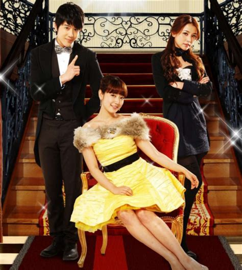 the combat butler park shin hye to with george hu in t drama hayate