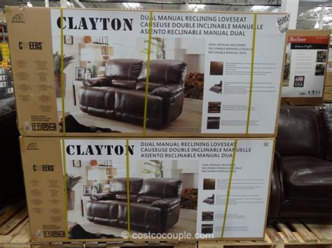 cheers leather sofa costco manwah clayton recliner cabot low profile recliner sc 1