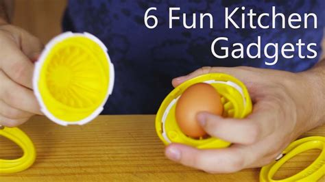 fun kitchen gadgets 6 fun kitchen gadgets youtube