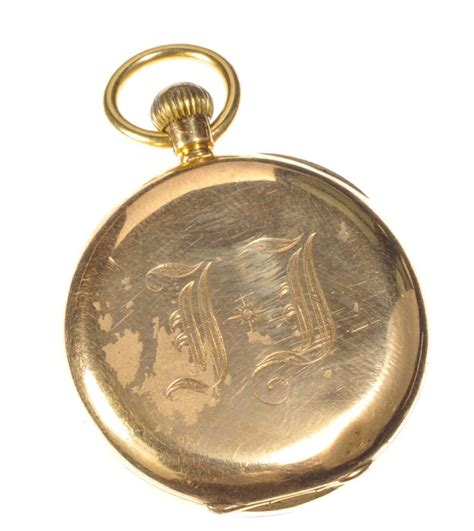 18ct gold fob