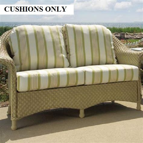 wicker cushions wicker furniture replacement cushions
