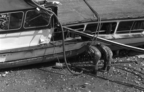 boat crash on thames today 25th anniversary of the marchioness disaster what