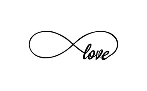 white infinity symbol infinity rubber st