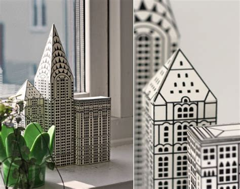 How To Make A Skyscraper Out Of Paper - 6 best images of printable foldable buildings 3d paper