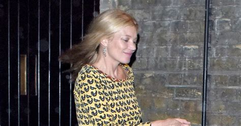 Who Is The Real Kate Moss by Kate Moss Forgets Hince Split And Looks Mellow In