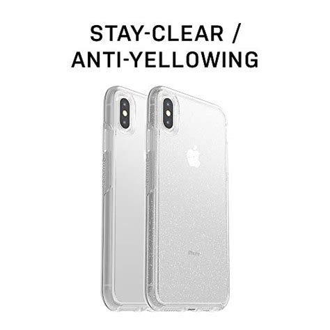 otterbox symmetry clear series for iphone xs max retail packaging clear available in