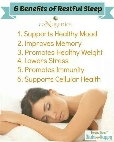 6 Advantages Of Staying At Benefits Of Sleep Well Being Benefits