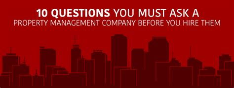 Property Management Companies Questions To Ask 10 Questions You Must Ask A Property Management Company