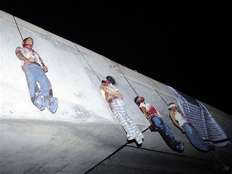 los narcos de tamaulipas guerra narco nueve cuerpos colgados en puente diariode3