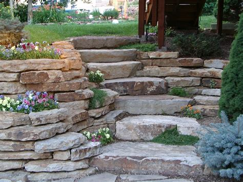 Rock Retaining Wall Retaining Walls Personal Touch Landscaping Colorado