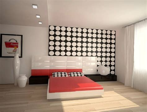 Pop Bedroom Design Collection The Interior In The Style Of Pop Decoration Trend