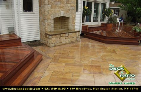 Wood Deck With Patio by Decks