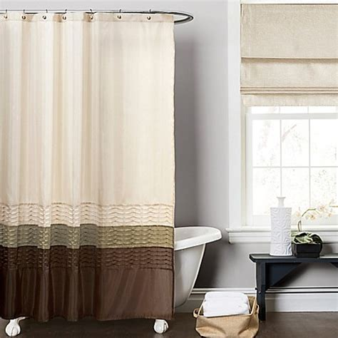green brown shower curtain buy mia green and brown 72 inch x 72 inch shower curtain