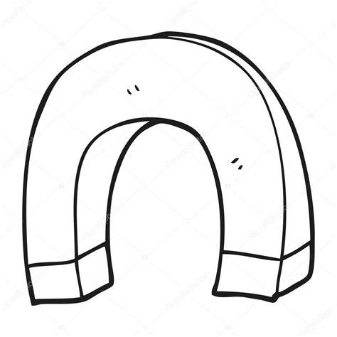 dibujos colorear iman im 225 n de dibujos animados blanco y negro vector de stock