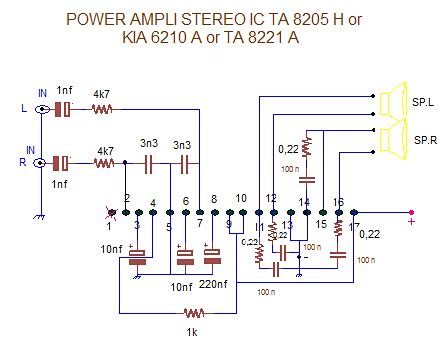 Ic Tantalum 470 6volt meservice skematik power li ic kia 6210 a or ta 8205 ah or ta 8221 ah