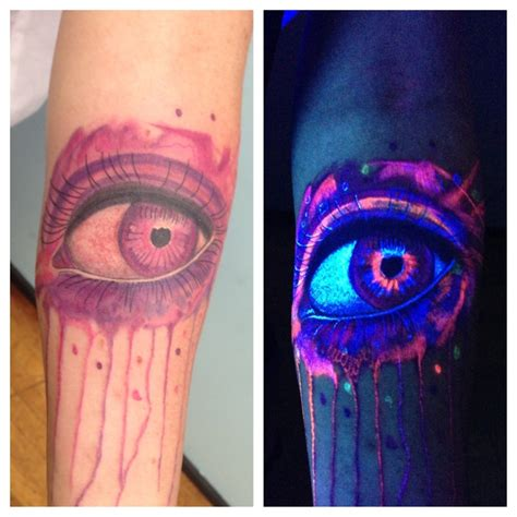 glow in the dark ink tattoo uv uv and in