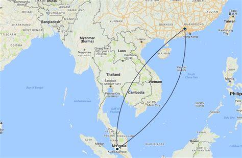 airfare of the day malaysia airlines economy class kuala lumpur to guangzhou 147 trip