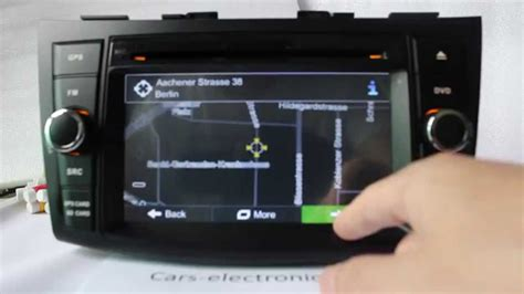 how make cars 1994 suzuki swift navigation system new suzuki swift car dvd player gps navigation system 2012 2014 youtube