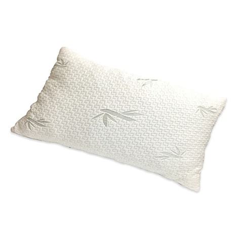 buy buckwheat pillows from bed bath beyond buy new domaine viscose rayon memory foam queen pillow