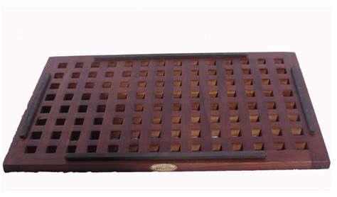 Outdoor Shower Mat by 23 Quot X 15 Quot Grate Teak Shower Bvath And Outdoor Floor Mat