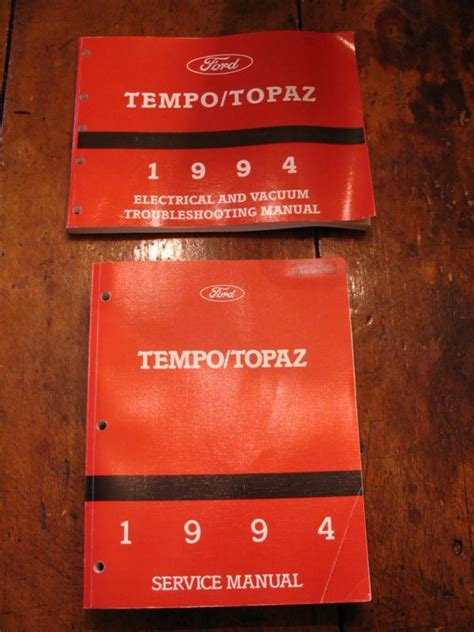 service repair manual free download 1994 ford tempo navigation system find 1994 ford tempo mercury topaz service shop repair manual factory oem book 94 motorcycle in