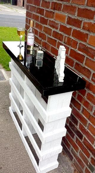 pallet bar top diy pallet bar with glass top 101 pallets