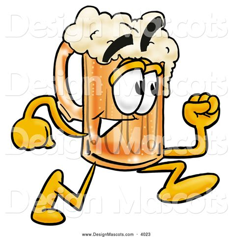 cartoon beer mascot clipart new stock mascot designs by some of the