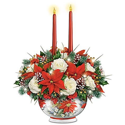 kinkade radiance flower table centerpiece centerpiece house home