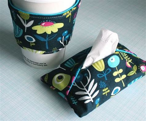 pattern for small kleenex holder coffee cozy and kleenex holder free pattern tissue