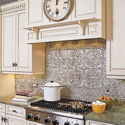 faux tin kitchen backsplash decorative tin tile backsplash ceiling tile ideas