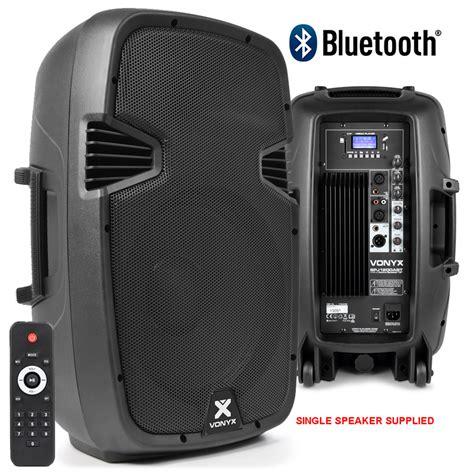 Speaker Active Bluetooth skytec 12 quot bluetooth active speaker mp3 usb sd dj pa disco karaoke 600w ebay