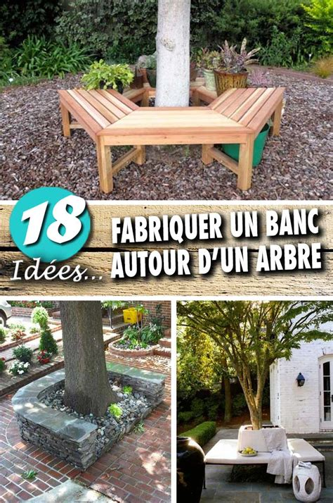 Banc Autour D Un Arbre by Fabriquer Un Banc Autour D Un Arbre Pour 234 Tre Toujours 224 L