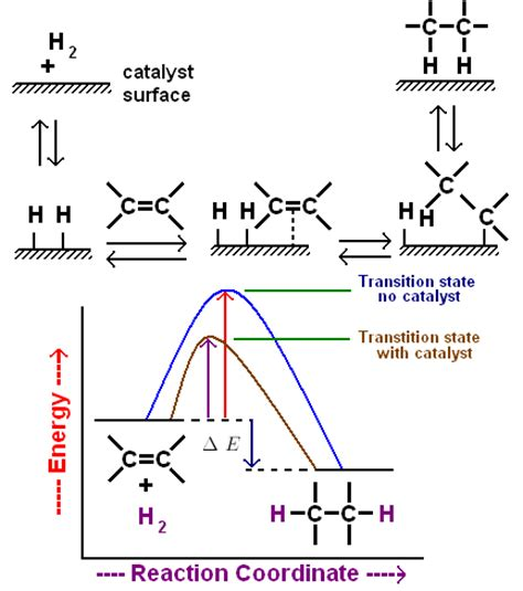 hydration and hydrogenation alkenes chemistry tutorvista