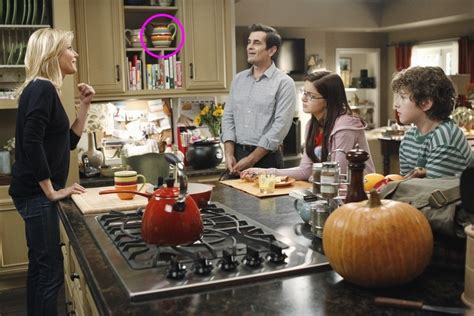modern family kitchen modern family the dunphys colorful striped pitcher on