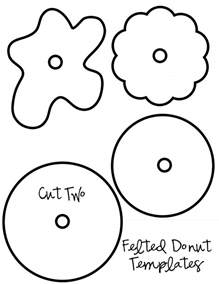 donut template my pretties december 2010