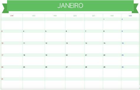 Calendario Mensal Modelos Calend 225 Rios 2016 Evernote Brrasil