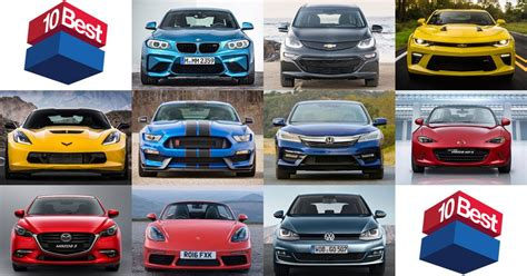 Car Types Names by Car And Driver Names Its 10 Best For 2017 Types Cars