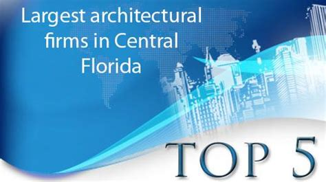 largest architectural firms crain s detroit business top 5 largest architectural firms in c fla orlando