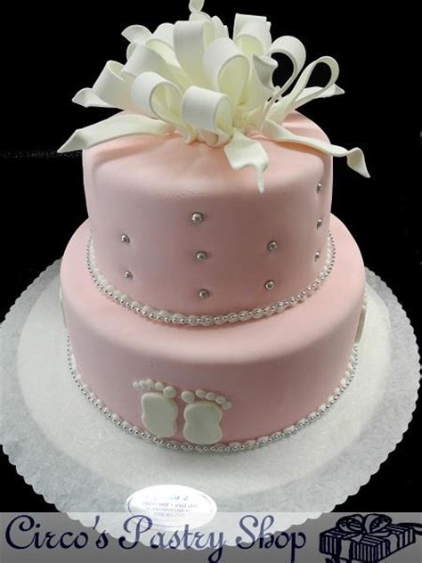 Get a quote for girl baby shower cake