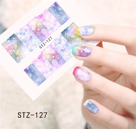Nail Sticker Manicure Decoration Tatto 6 1pcs new cover stickers nail tips water transfer decorations nail decals manicure