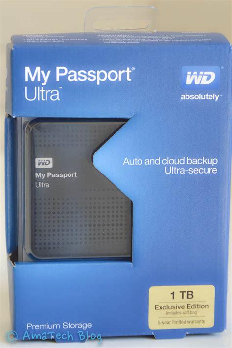 Disk My Passport 1 recensione western digital my passport ultra 1tb nero