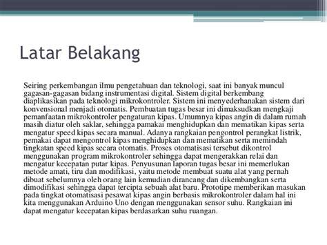 Kipas Angin Manual Putar Besar fan ac using temperature sensor lm35 based on