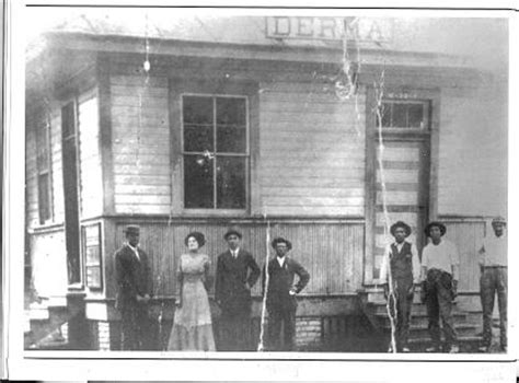 Okolona Post Office by Town Of Derma Research
